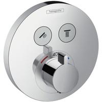 HANSGROHE ShowerSelect S Thermostat Unterputz für 2 Verbraucher (15743000)