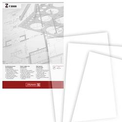 BRUNNEN Transparentpapier   DIN A4   90 g/qm 50 Blatt