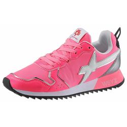 W6YZ Keilsneaker in stylischer Neon-Optik rosa 35