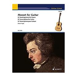 Mozart for Guitar - Buch