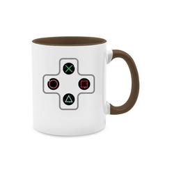 Shirtracer Tasse Gamer Controller - Nerds & Geeks - Tasse zweifarbig - Tassen, gamer tasse controller