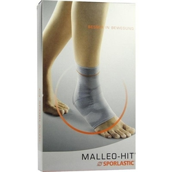 MALLEO-HIT Sprunggelenkbandage Gr.4 schwarz 07074 1 St