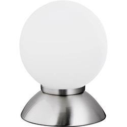 ACTION Pluto 834201640120 Tischlampe LED E14 9W Chrom