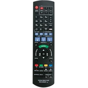VINABTY N2QAYB001046 N2QAYB000759 Ersatz für Fernbedienung für Blu-ray-Recorder von Panasonic DMR-BCT750 DMR-BWT750 DMR-BWT735 DMR-BCT950 DMR-BWT720 DMR-BST750 DMR-BCT850 DMR-BST820 DMR-BST720