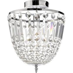 LeuchtenDirekt Kamea Kronleuchter LED E14 40W Chrom