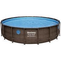 Bestway Power Steel Swim Vista Series Frame Pool rund