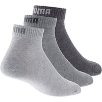 Puma Quarter Plain 3P Socken 3er Pack in 35-38