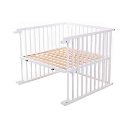 babybay Kinderbett Kinderbett Umbausatz für babybay maxi, natur weiß