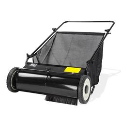 Rasenkehrmaschine Laubkehrmaschine Rasenkehrer Breite 65 cm