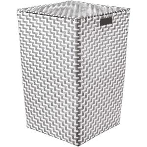 Kleine Wolke Cubic Wäschebox, 100% Polypropylen, Platin, 35x55 cm