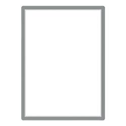 Magnetischer Posterrahmen »Magneto« 50x70 silber, Tarifold, 54.2x74.2 cm