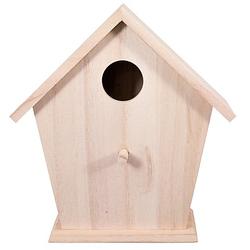 Vogelhaus aus Holz, 16 x 8 x 17,5 cm