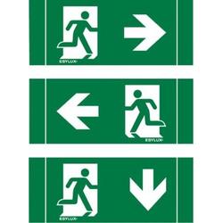 ESYLUX EN10017827 Piktogramm Notausgang rechts, Notausgang links, Notausgang unten