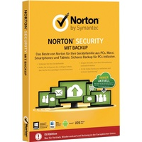 Symantec Norton Security 2015 mit Backup 10 Geräte DE Win Mac Android iOS