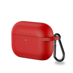 CoverKingz Etui Hülle für Apple AirPods 3 / AirPods Pro Silikonhülle Case Cover Tasche Pink/Rot Apple AirPods Pro / AirPods 3