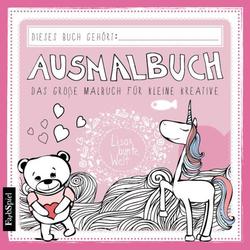 Ausmalbuch - Das große Malbuch für kleine kreative: Buch von Lisa Wirth