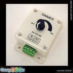 LED Dimmer 24 Volt 8A Aufbau manuell