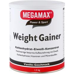 WEIGHT GAINER Megamax Vanille Pulver 1500 g