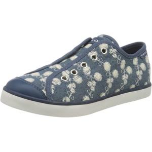 Geox Mädchen Jr Ciak Girl C DS Sneaker, Blau Avio C4005, 26 EU