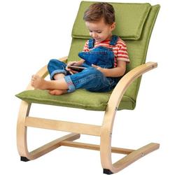 COSTWAY Schaukelstuhl Kindersessel Kinder Schwingsessel Schaukelstuhl Schaukelsessel belastbar bis 120kg