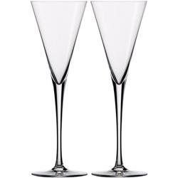 Eisch Sektglas Jeunesse (2-tlg), bleifreies Kristallglas, 180 ml