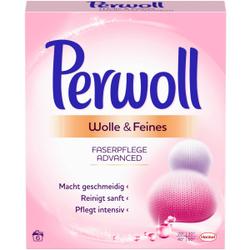 Perwoll Wolle & Feines Faserpflege Advanced Waschpulver, Behutsame und sanfte Pflege von Wolle und Seide, 330 g - Packung für ca. 6 Waschladungen