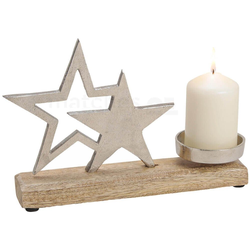 matches21 HOME & HOBBY Kerzenhalter Sterne Kerzenhalter Deko Weihnachten