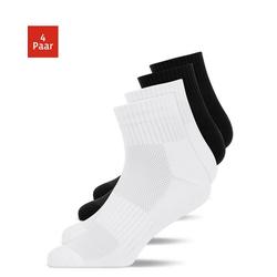 SNOCKS Laufsocken Winter Running Socks Herren & Damen (4-Paar) bunt 47 - 50