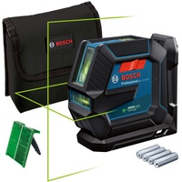 Bosch Professional GLL 2-15 G Grün inkl. Zubehör