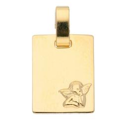 Adelia´s Kettenanhänger 585 Gold Anhänger Amor, Goldschmuck für Damen