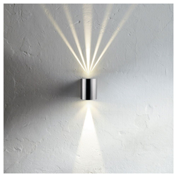 Licht-Trend LED Außen-Wandleuchte Baleno LED Up&Down mit Lichtfilter