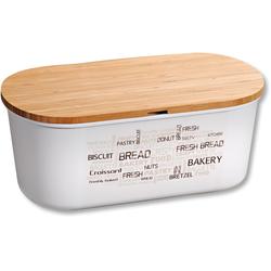 KESPER for kitchen & home Brotkasten, (1 tlg.), mit Deckel als Schneidbrett beige Aufbewahrung Küchenhelfer Haushaltswaren Lebensmittelaufbewahrungsbehälter