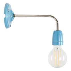 Wandlampe Nathalie Blau