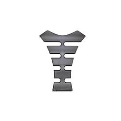 Tankpad Motorad Streifen MusterTankschutz 140mm x 180mm Polymer 3D