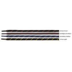 Joma Schnürsenkel Bergsenkel rund 150 cm schwarz/gelb