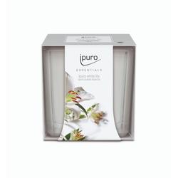 Ipuro White Lily Duftkerze 125g