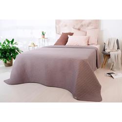 Tagesdecke Living Trend, SEI Design braun 240 cm x 220 cm