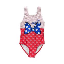Disney Minnie Mouse Badeanzug Disney Minnie Mouse Kinder Badeanzug rot 104
