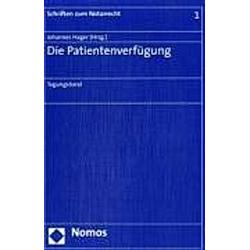 Die Patientenverfügung - Buch