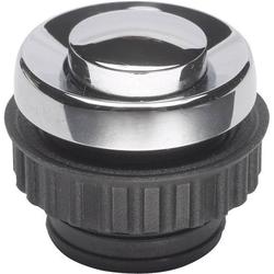 Grothe 62054 Klingeltaster 1fach Chrom 24 V/1,5A