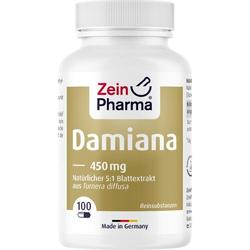 DAMIANA KAPSELN 450 mg 5:1 Blattextrakt 100 St