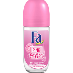 Fa Deodorant Roll on Pink Passion mit blumigem Duft 50 ml 6er Pack