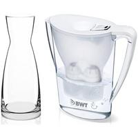 BWT Penguin weiß + 1 Kartusche + Glaskaraffe