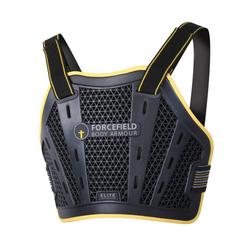 Forcefield Elite Brust Protektor, schwarz, Größe S M