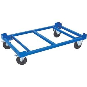 Transportroller, (Set, 5-St), LxBxH 1210x810x275 mm, Tragkraft 750 kg, Rad-Ø 160x50 mm, Vollgummibereifung