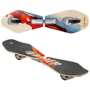 Streetsurfing Street Surfing Wooden Waveboard Wave Rider-Abstract, 500079, M