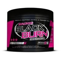 Stacker2 Black Burn Micronized Fatburner, 300 g Dose, Fruit Punch