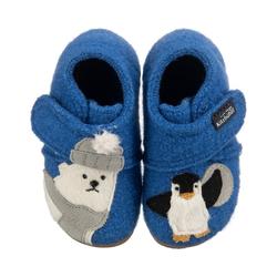 Living Kitzbühel Baby Hausschuhe Eisbär & Pinguin für Jungen Hausschuh 25