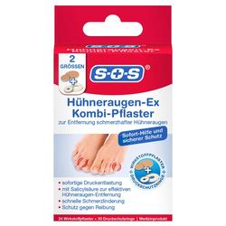 SOS HÜHNERAUGEN-Ex Kombi Pflaster 54 St