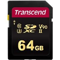 Transcend SDXC 64 GB Class 10 700S UHS-II